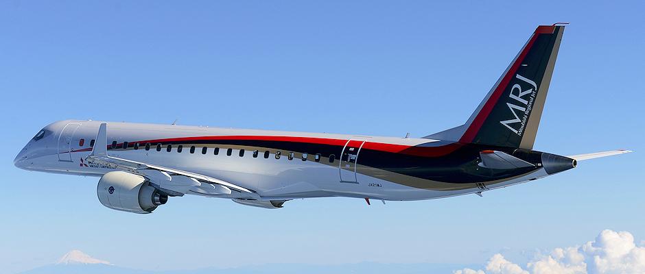 Mitsubishi Regional Jet - Maiden Flight