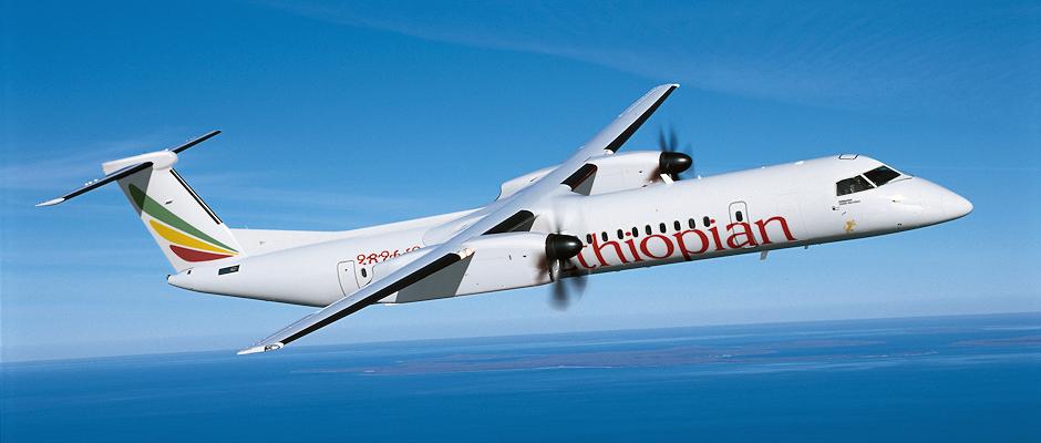 Bombardier Q400 NextGen Ethiopian