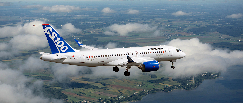 Bombardier CSeries CS100 Flight Test Vehicle 1